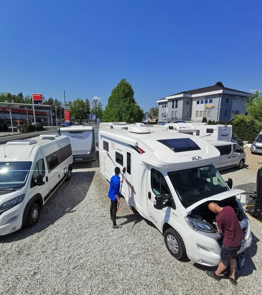 Slovenia Camper team is getting all the motorhomes ready for the time when travelling will be possible.